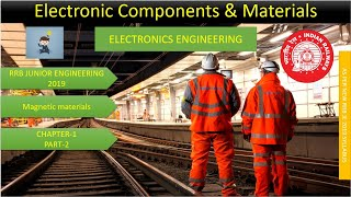 RRB JE 2019 C-1 P-2 MAGNETIC MATERIALS ELECTRONICS ENGINEERING