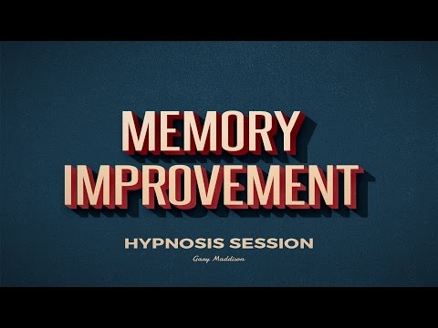 Memory Improvement and Recall Skills - Free Hypnosis Session