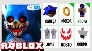 CUIDADO COM O PERFIL DO NOVO SONIC.EXE NO ROBLOX!!