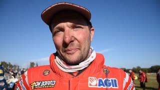 Dakar 2017: interviste all'arrivo, Simone Agazzi