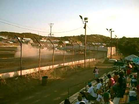 pure stock heat 2 barona speedway 7-18 -2009 Video