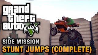 GTA 5 - Stunt Jumps [Show Off Achievement / Trophy]