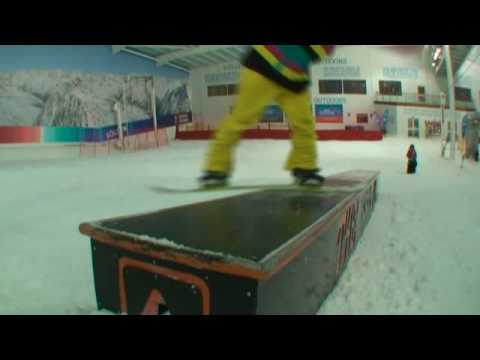 How to do Frontside Boardslides / Noseslides on a snowboard - Maverix Snow Camp