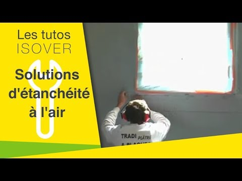 Isolation maison tanch it l 39 air youtube for Analyse air maison
