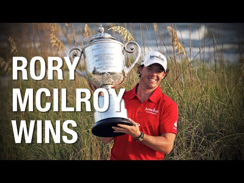 Rory Mcilroy 2012 PGA Championship - Highlights