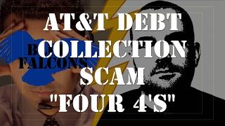 """ATT Bill Scam Prank Call """"FOUR 4's"""""""