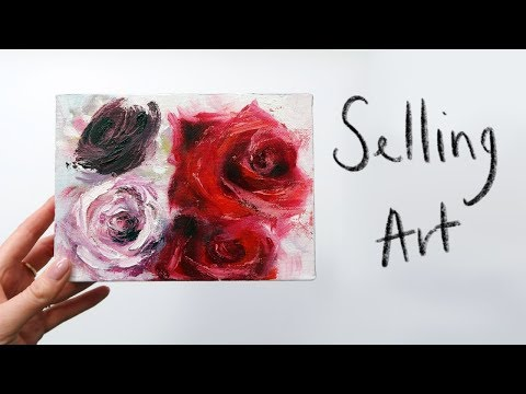 How I PHOTOGRAPH & SELL ART on Etsy | Vlog Style