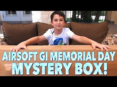 Airsoft GI Memorial Day Mystery Box with Robert-Andre!