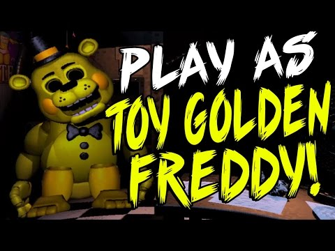 PLAY As Toy GOLDEN FREDDY And MORE! | Toy Freddy Simulator | Part 1