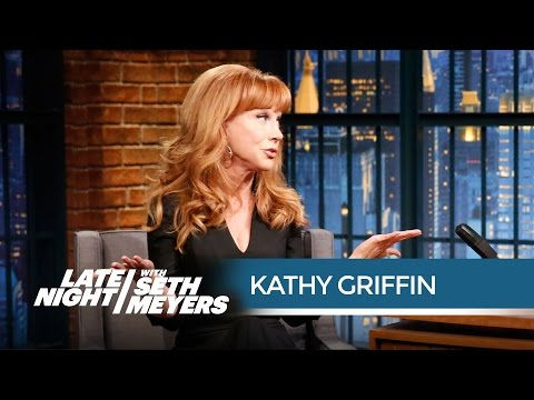 Kathy Griffin Wants Florida State to Ditch the Seminoles Team Name - Late Night with Seth Meyers