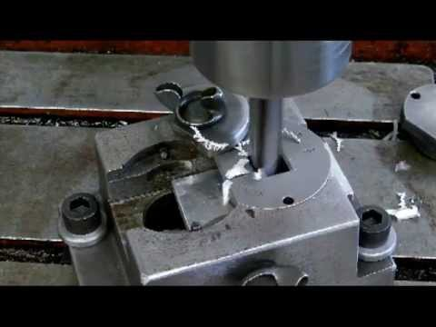 Drilling Square Holes Youtube
