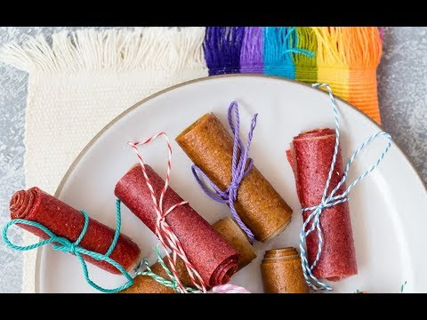 Healthy Snack Recipes with Kids: How to Make Homemade Fruit Roll Up for Children - Weelicious