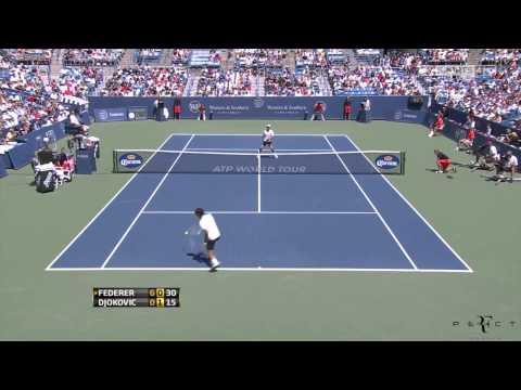 Highlights Roger Federer vs  Novak Djokovic Cincinnati 2012 Final HD