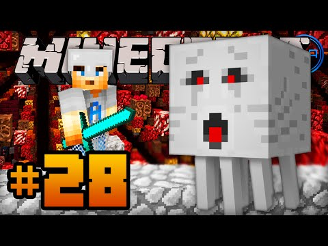 PRE-ENDER DRAGON! - Minecraft SKY GRID - Episode #28 w/ Ali-A!