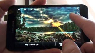 Samsung Galaxy Note N7000 Internet and gameplay