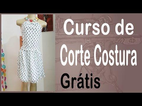 Corte e Costura passo-a-passo Vestido com Correntes - Faça esse Vestido em 14minutos!
