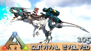 ARK: SURVIVAL EVOLVED - NEW TEK MYTH ARMED ALLOSAURUS !!! E105 (MOD EXTINCTION CORE)