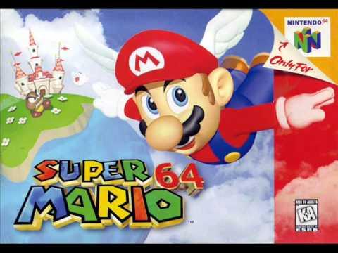 Misc Computer Games - Super Mario 64 - Cave Dungeon