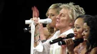 ROD STEWART - SAILING (Bell Center, Montreal, 2013) HD