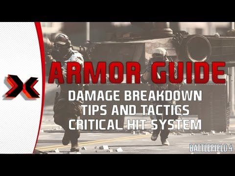 Battlefield 4 Beta - Armor tactics tips and damage