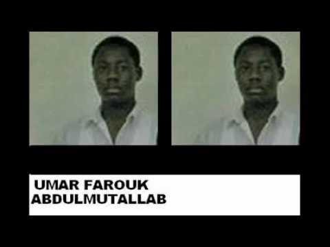 FACE OF EVIL - Muslim Terrorist Umar Farouk AbdulMutallab - OBAMA AWOL AGAIN.flv