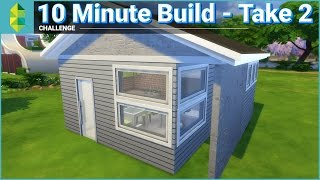 10 Minute Build - ROUND 2 (Sims 4)