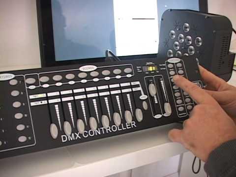Lumin Lights 192 DMX Controller Mixer Mixing Board Light Controller