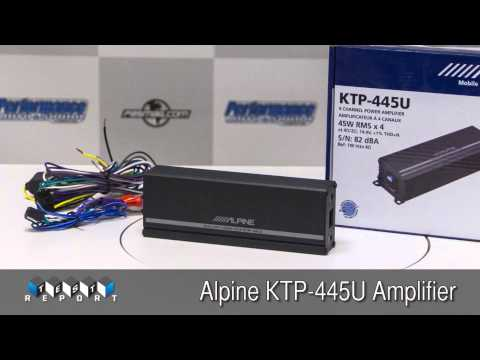 Alpine KTP-445U Amplifier Review