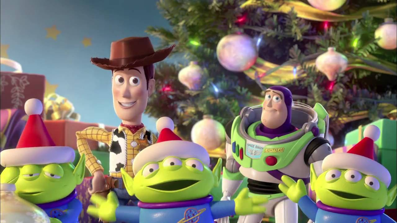 Toy Story Holidays : Toy story happy holidays youtube