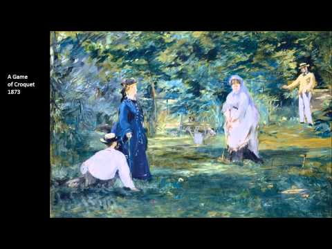 Manet, Edouard Part Two 1/4 Art Lecture by dr. christian conrad