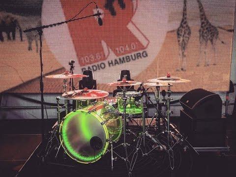★ OPTIMUS DRUMS ★ - Jerome/Stars Drumcover Radio Hamburg 2016 HD