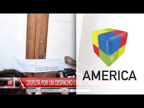 Pelea en el Congreso por un despacho asignado a Máximo Kirchner
