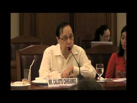 Statement of Support for Passage of Bangsamoro Basic Law