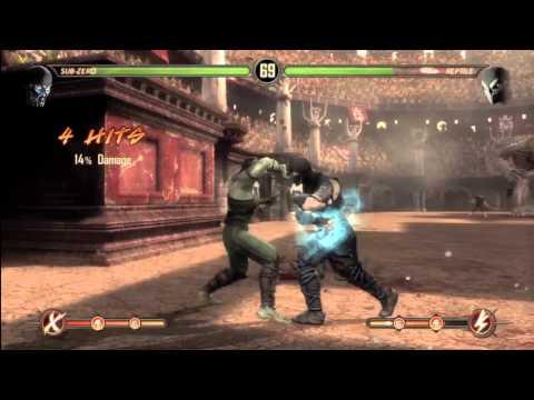 Mortal Kombat Story Walkthrough: Chapter 8: Sub-Zero [HD] (PS3,X360)