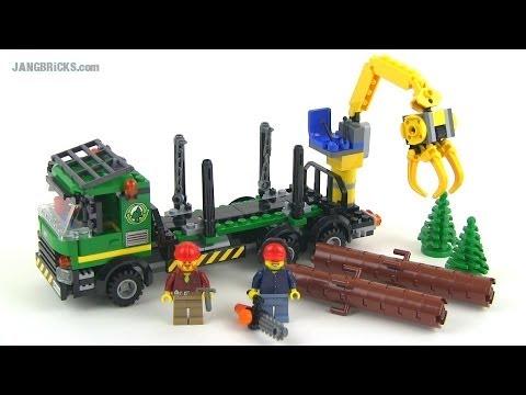 LEGO City 2014 Logging Truck 60059 set Review!