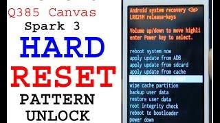 micromax q385 hard reset pattern unlock 100% work