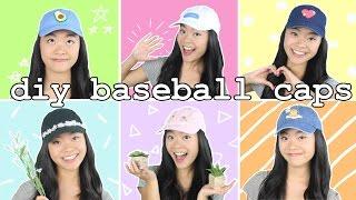How to Make DIY Baseball Caps!