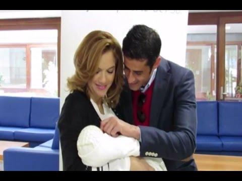 Trapote y Víctor Janeiro se van a casa con su bebé