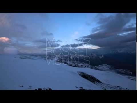 Elbrus Night 2 Timelapse Zoom