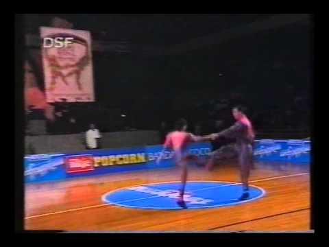 Elke Peischel & Martin Lackner - Weltmeisterschaft 1992