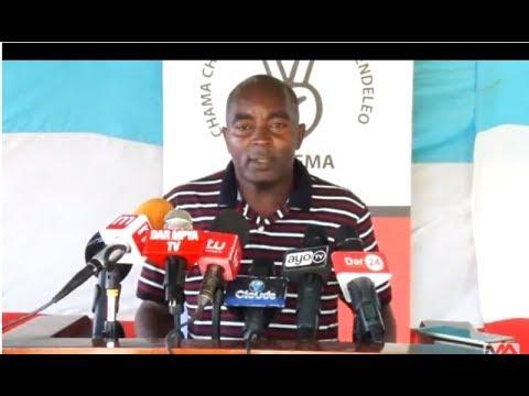 Download BREAKING: Mbunge Calist Komu 'CHADEMA' afunguka tuhuma za kuhamia CCM