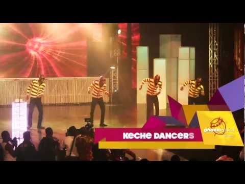 Keche's Dancers - - - MTN 4Syte TV Music Video Awards 2012