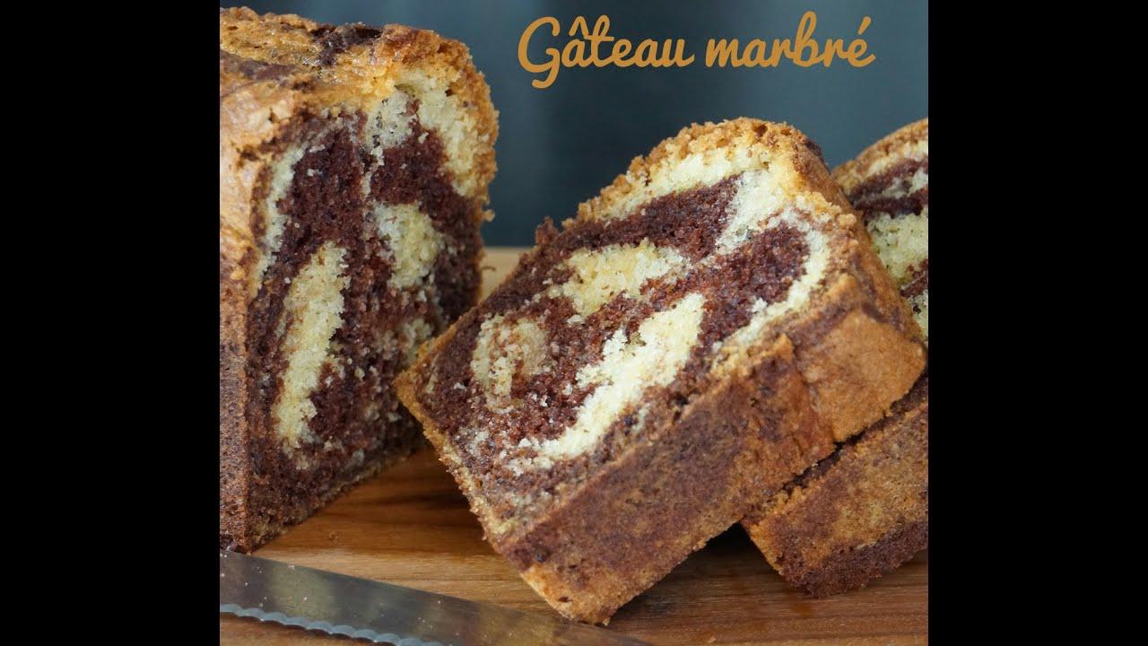 Recette du g teau marbr facile et moelleux eng sub marble cake youtube - Gateau surprise facile ...