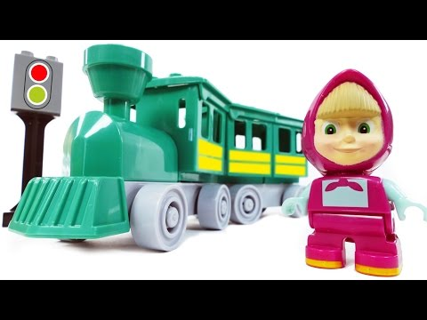 Masha and the Bear Train Fun & Pool Fun