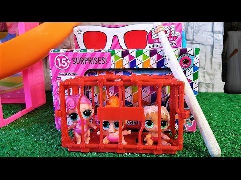 ДОИГРАЛИСЬ! КУКЛЫ ЛОЛ И КАПСУЛА ЛОЛ ПОПАЛИСЬ В КЛЕТКУ ГРЕННИ. #Мультики куклы #ЛОЛ