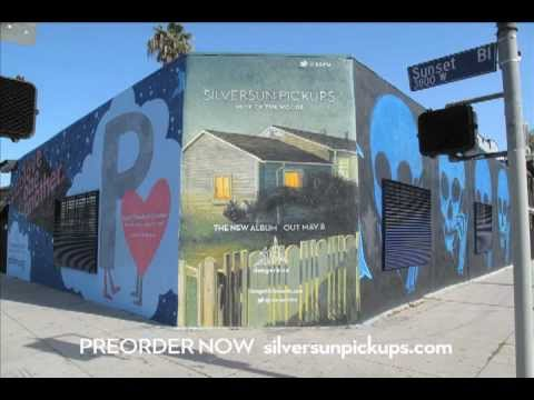 Silversun Pickups - Neck Of The Woods - mural time lapse