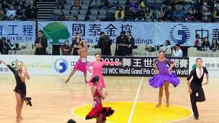 2018 舞王世界公開賽 國高中單人 Jive 複賽