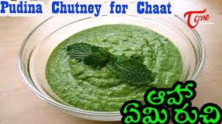 Cookery Tips & FAQs || Pudina Chutney for Chaat