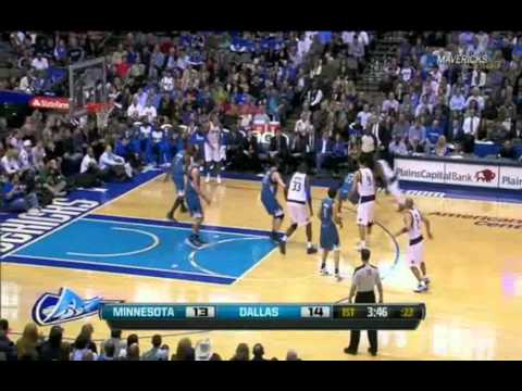 Yi Jianlian 1/25/2012 DAL vs MIN 8pts Jumpers