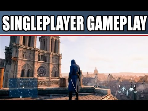 Assassin's Creed Unity Gameplay Walkthrough NEW: Singleplayer Mission! Cutscenes Xbox One PS4 PC
